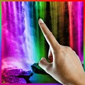 Colorful Rainbow Waterfall LWP icon