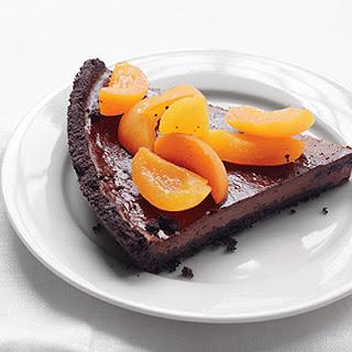 Chocolate-Apricot Pie.