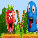 Fruits vs. Worms logo