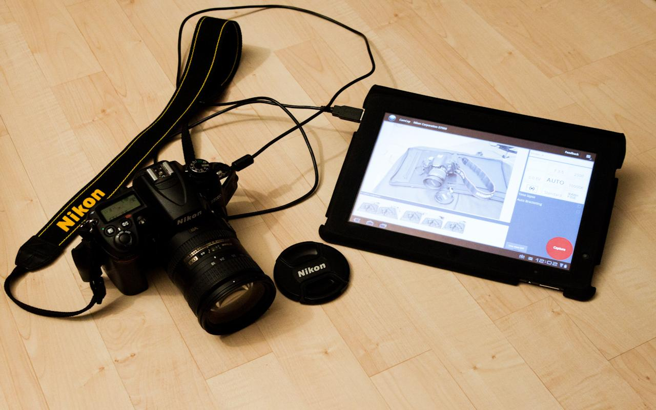CamCap - DSLR Controller- screenshot