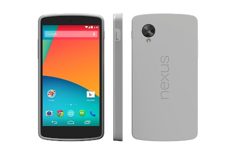 Nexus 5 Bumper Case (Gray) - screenshot thumbnail