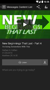 Calvary Baptist Church App - screenshot thumbnail