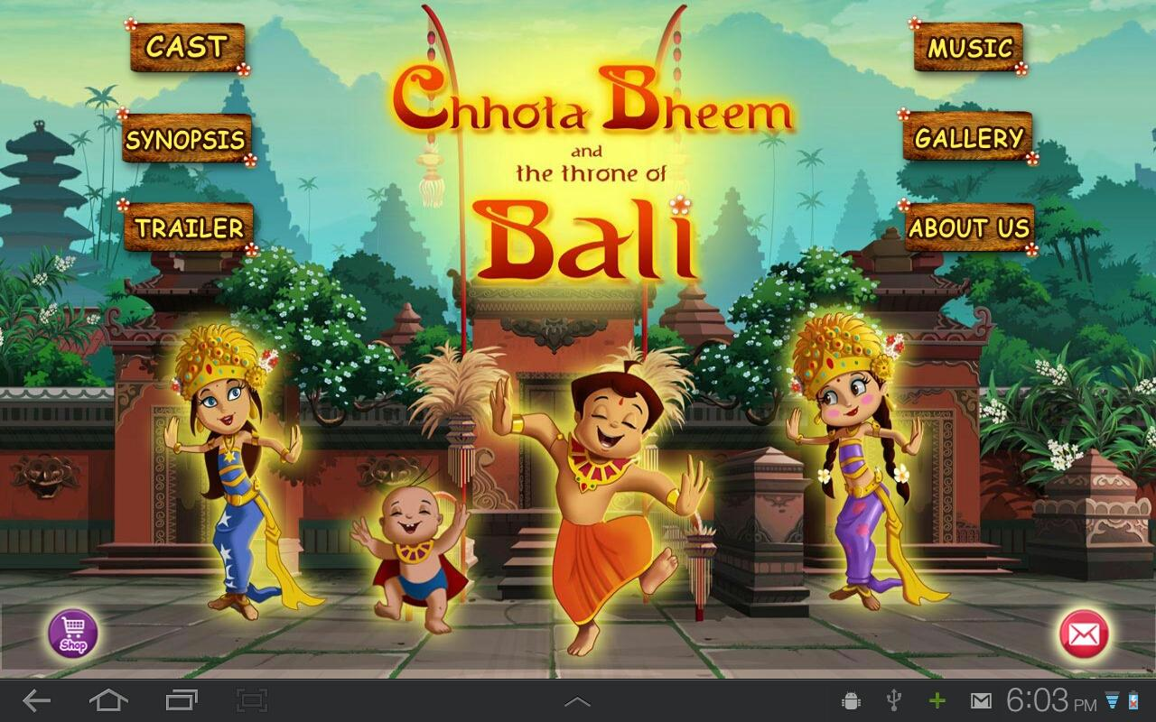 Bali Movie App - Chhota Bheem - screenshot