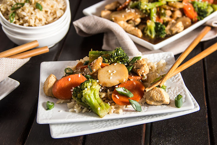Skinny Chicken Broccoli Stir Fry Recipe