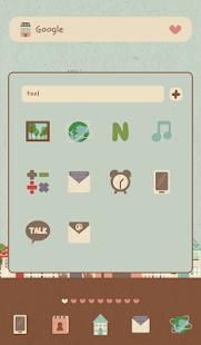 【免費個人化App】해피 빌리지 도돌런처 테마-APP點子