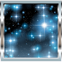 Glitter Stars FREE Wallpaper icon
