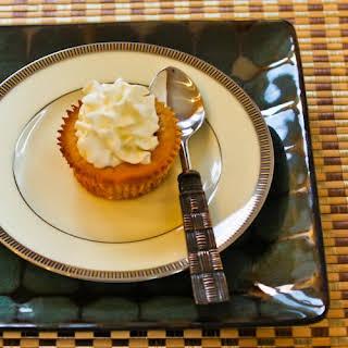 Low-Sugar Spiced Pumpkin Mini-Cheesecakes.