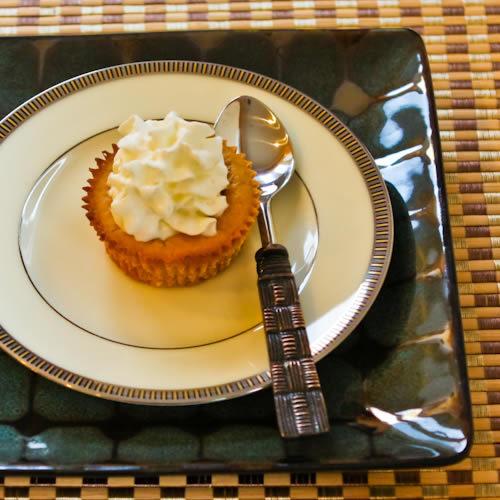 Low-Sugar Spiced Pumpkin Mini-Cheesecakes Recipe