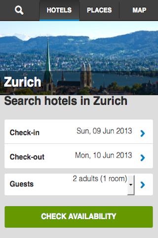 Zurich Hotels Booking Cheap