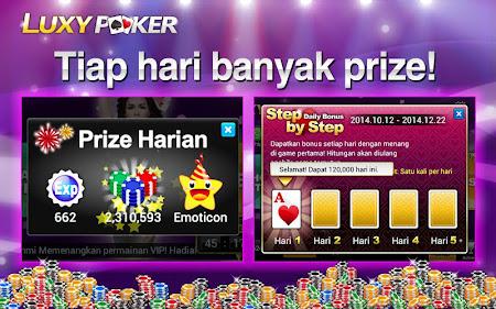 Poker: Luxy Poker Texas Holdem 1.2.2 screenshot 227148