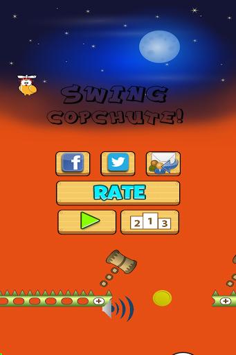Swing Cop-chute Best free game
