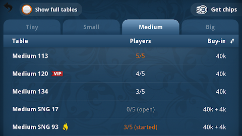 Appeak – The Free Poker Game Screenshot 4