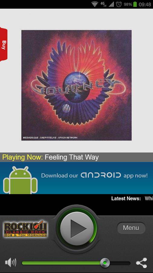 Rock 101.1 FM - screenshot