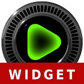 NEON GREEN Poweramp Widget