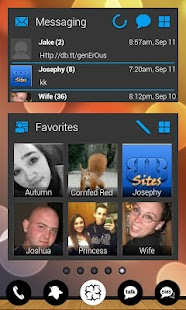 APW Themes: Blue(Dark) - screenshot thumbnail