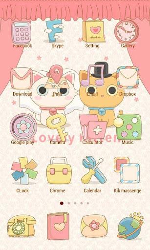 玩個人化App|Lovely Kitten Theme -ZERO免費|APP試玩