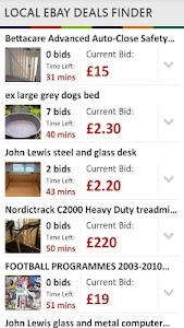 Local Ebay Deals Finder screenshot 3