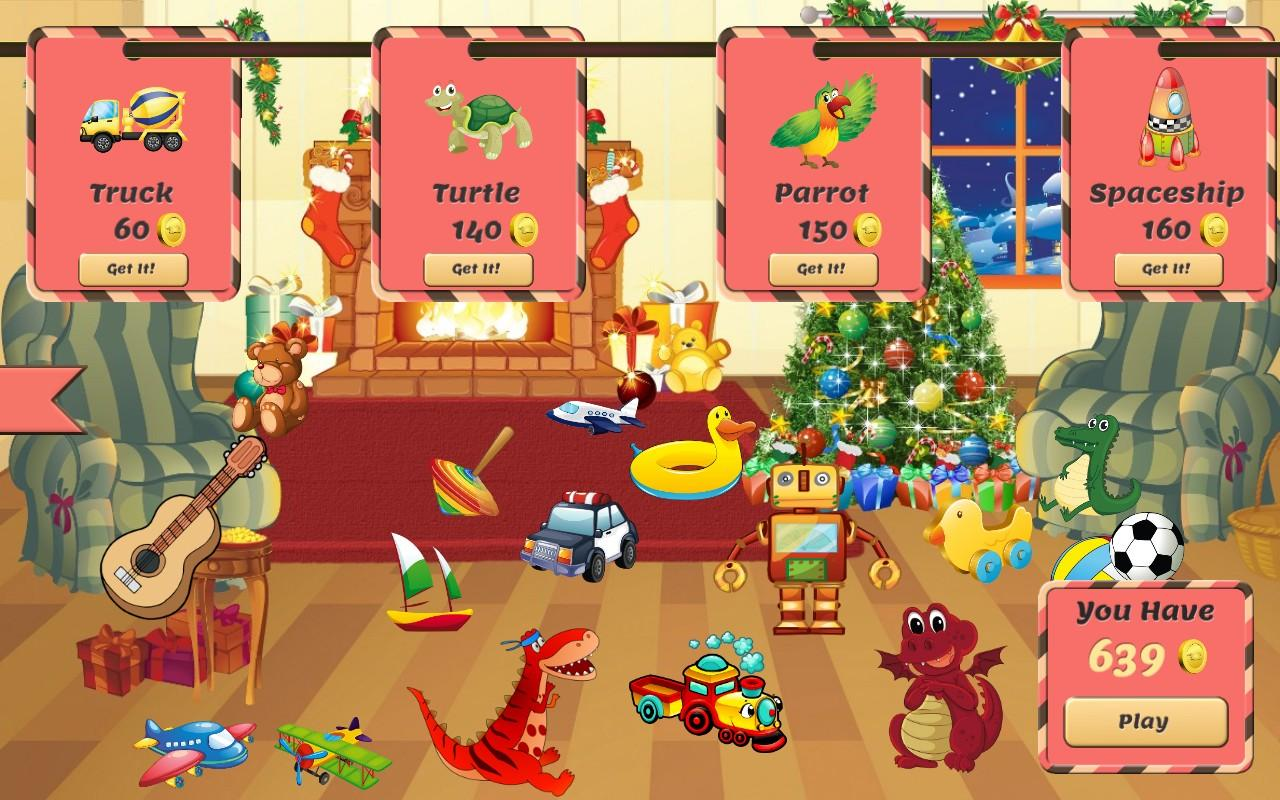 Christmas Games: Toy Party - screenshot