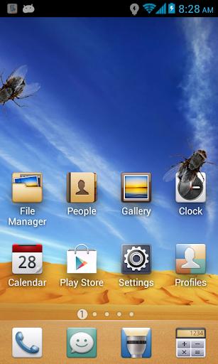蒼蠅在電話樂趣