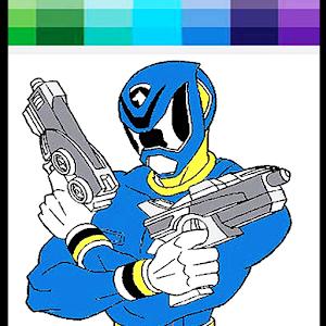 hero rangers coloring book - Power Rangers Coloring Book