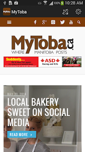 MyToba.ca News screenshot 0
