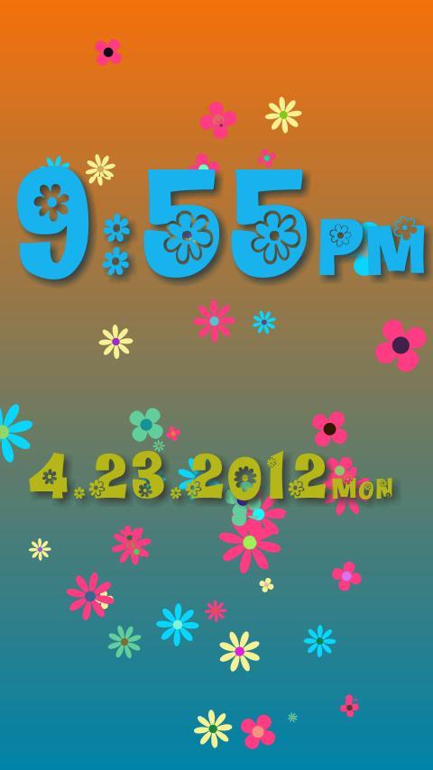 Alarm Clock ! Flower Flow !- screenshot