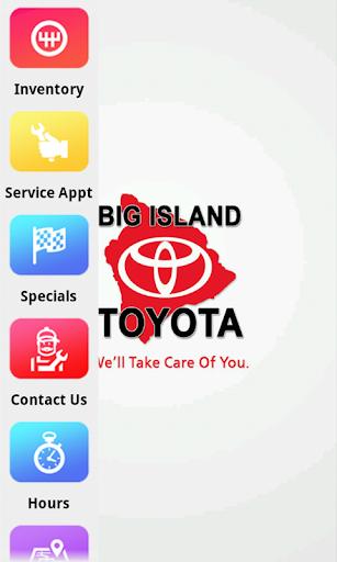 Big Island Toyota Dealer App