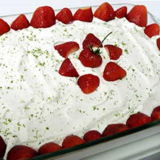 Strawberry Margarita Cake.