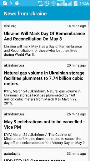 News from Ukraine