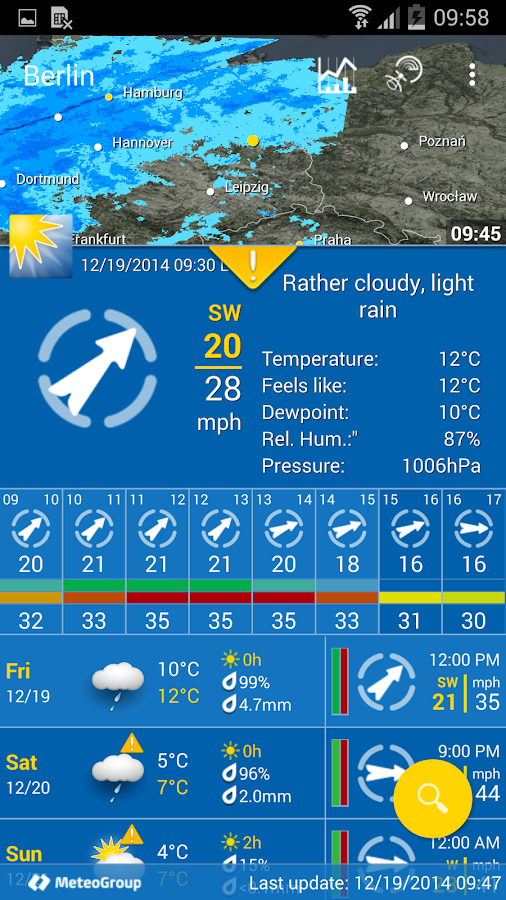 WeatherPro- screenshot