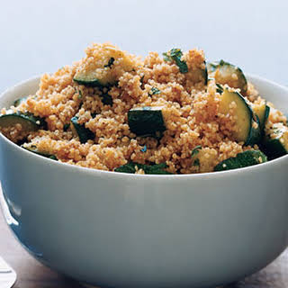 Couscous with Spiced Zucchini.
