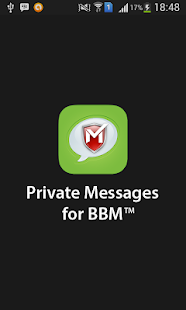 Private Messages for BBM™- screenshot thumbnail