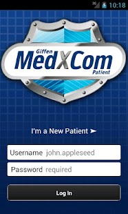 MedXCom for Patients- screenshot thumbnail
