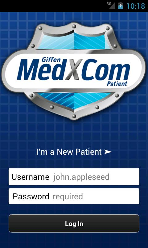 MedXCom for Patients- screenshot