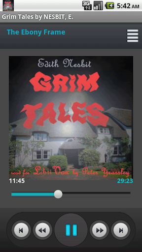 Grim Tales Audio Book NESBIT