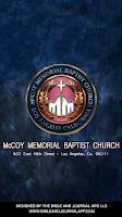 Screenshot of McCoy Memorial Baptist Church