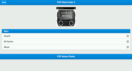 PSP Cheat Codes 2