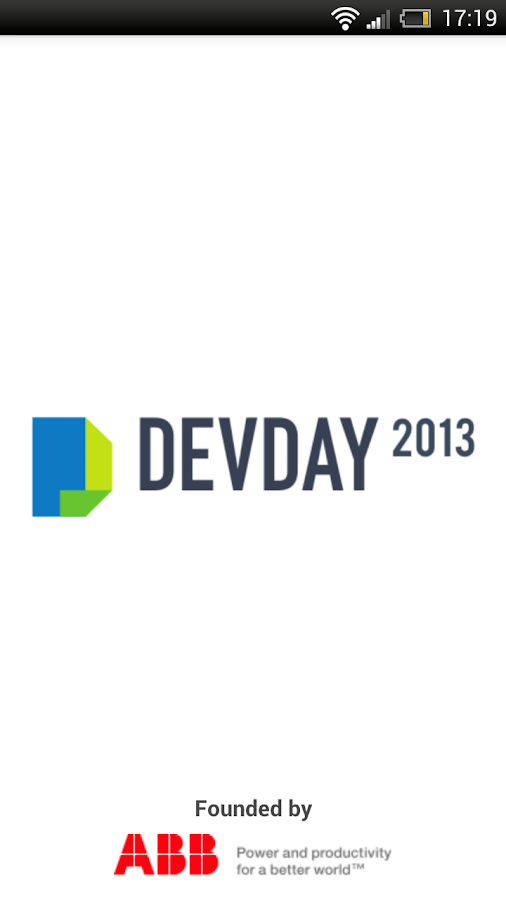 DevDay 2013- screenshot