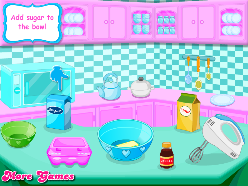 Cooking Cute Cupcakes - screenshot