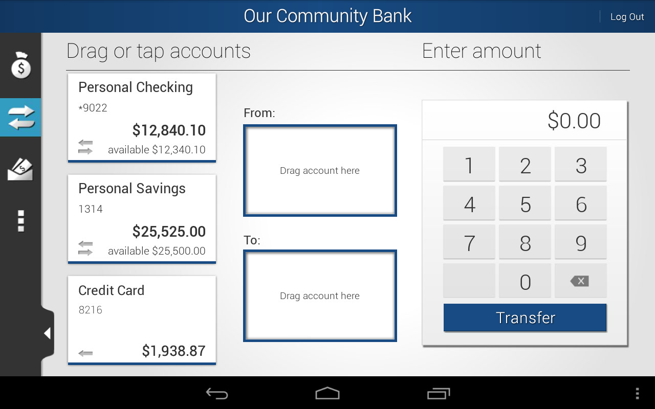 Our Community Bank - screenshot