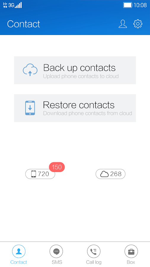 SYNCit- SMS Backup & Restore- screenshot