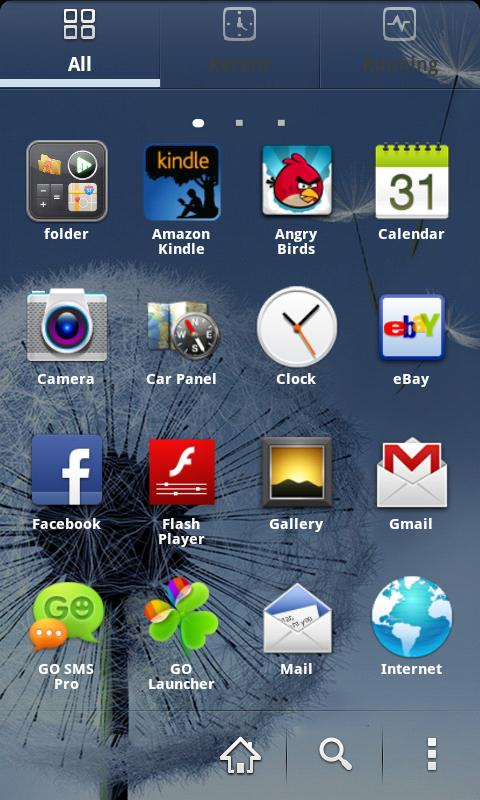 Go Launcher Galaxy Theme EX - screenshot