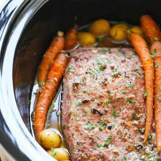 Slow Cooker Corned Beef.