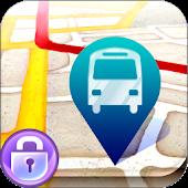 [대구버스]잠금이 버스 - 락화면에서 보는 버스 정보