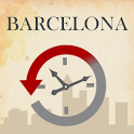Barcelona, Then and Now Guide logo