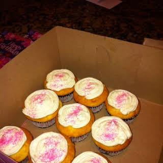 White Chocolate Cheesecake Cupcakes.