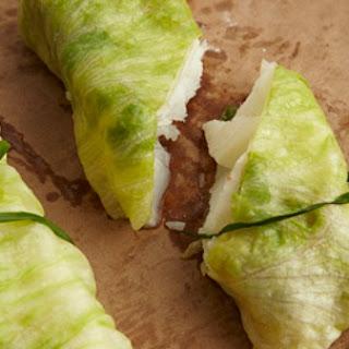 Lettuce Wrapped John Dory.