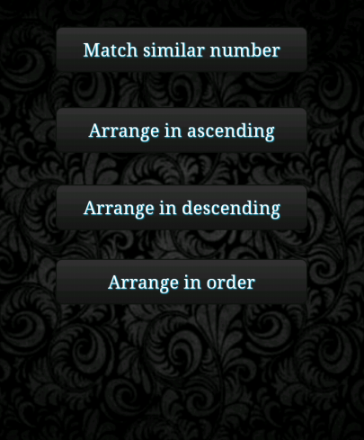 Arranging The Number Game