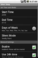 Screenshot of Silent Sleep