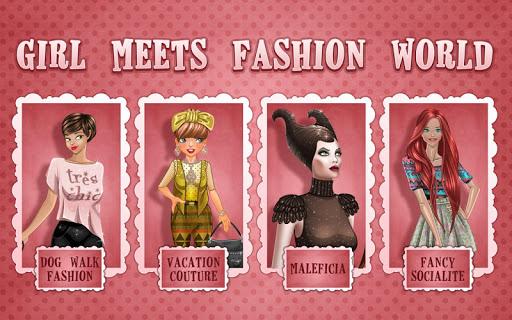 女孩與時尚世界